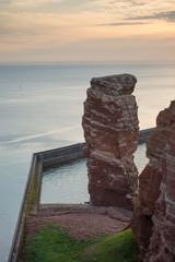 Die Lange Anna bei Sonnenuntergang (Helgoland)