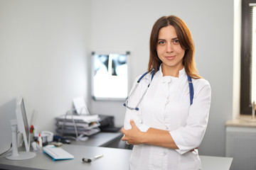 Portrait of a doctor's office