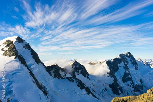 verschneite-berge