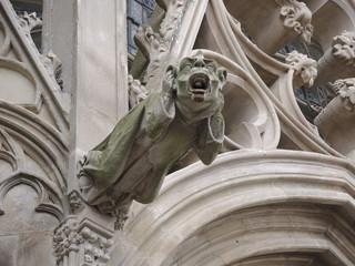 Gargoyley on Saint Nazariy's cathedral