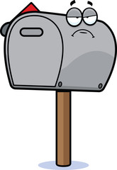 Cartoon Mailbox Grumpy