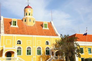 Sitz des Gouverneurs auf Curacao