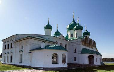 Churches of the Transfiguration St. Alexander of Svir Monastery