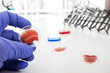 Meat cultured in laboratory conditions from stem cells