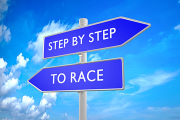 Step By Step vs To Race