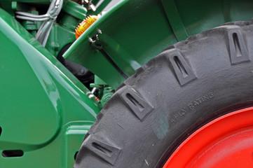 Traktor Detail