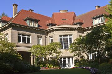 Pittock Mansion estate Portland Oregon.