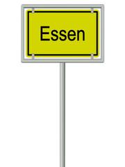 Essen - Ortsschild