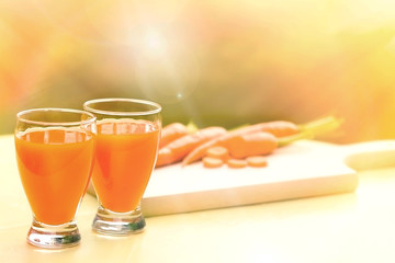 Carrot smoothie - Carrot juice