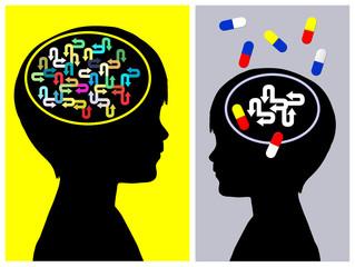 ADHD Treatment Concept