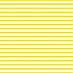 Thin Bright Yellow and White Horizontal Striped Textured Fabric