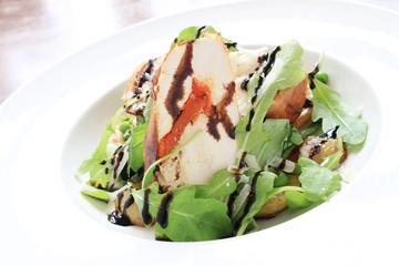 chicken roulade salad