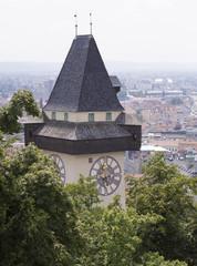 Uhrturm - Wahrzeichen der Stadt Graz