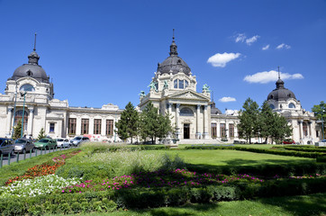 Bagni Széchenyi, Budapest.
