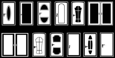 set isolated doors