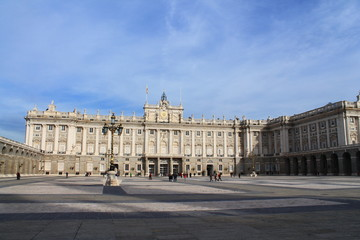 Palais Royal de Madrid, Espgane