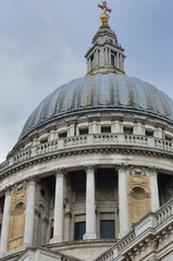 Dome of st pauls cathedral