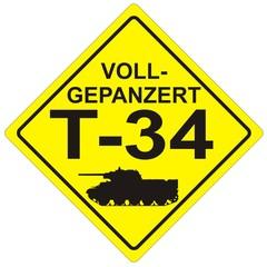 Heck Sticker T-34