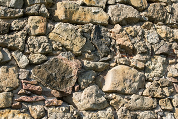 Random rubble masonry