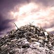 Metall Müllhaufen