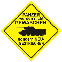 Auto Sticker PANZER