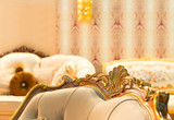 Fototapety Luxury chair in fashion interior
