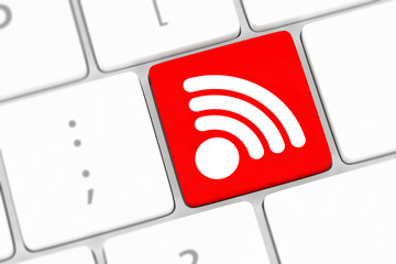 wifi internet button for hotspots or connections.
