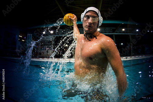 water polo player - 68041834