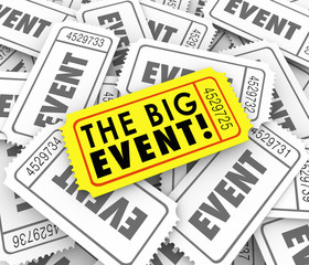 Big Event Golden Yellow Ticket Special Admission Access