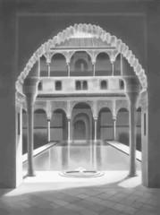 Interior del Templo de la diosa Ishtar en Nínive Babilonia