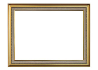 golden iron picture frame