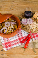 Traditional cod casserole
