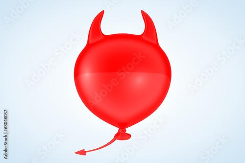 canvas print picture Devil Balloon