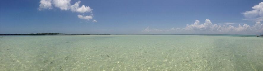 panoramica isla pasión, holbox