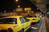 Fotoroleta Airport Taxi Lineup