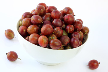 Gooseberry abundance in a plate