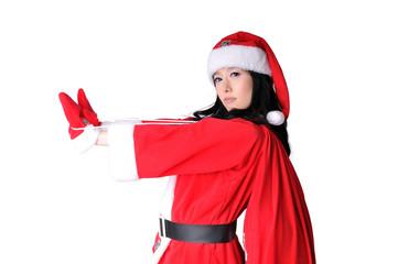 귀여운 산타소녀