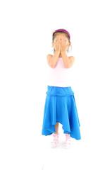 파란치마를 입은 소녀