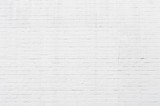 Fototapety White brickwall surface