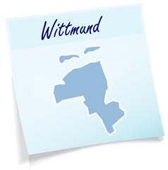 Wittmund als Notizzettel