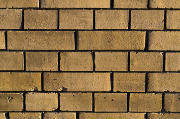 Brown brickwall surface