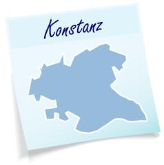 Konstanz als Notizzettel