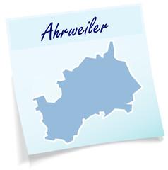 Ahrweiler als Notizzettel