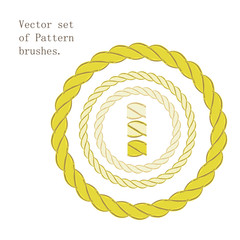 Vector  set of brushes