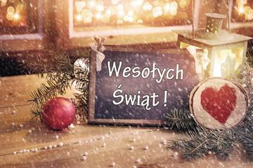 Magiczna karka z życzeniami - Wesołych Świąt