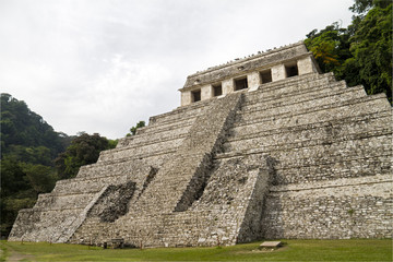 Palenque - Temple of Inscriptions