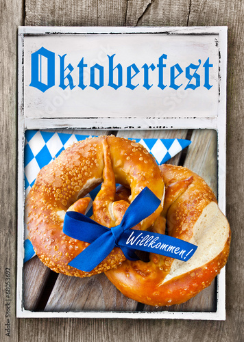 canvas print picture Oktoberfest