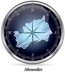 Ahrweiler mit Grenzen
