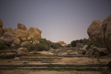 Hampi at night
