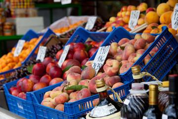 Fresh fruit on sale at market